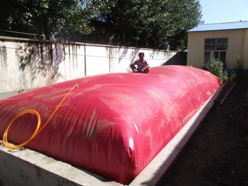 新型养猪场沼气池工程案例产品图片